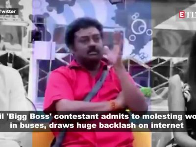Bigg Boss Tamil 3: Host Kamal Haasan laughs as contestant casually admits to molesting women on show