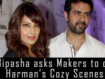 Bipasha asks Makers to cut Harman's cozy scenes!