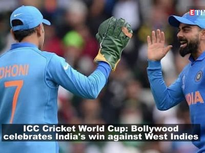Bollywood celebrities congratulate Indian Team for their win against West Indies in ICC Cricket World Cup