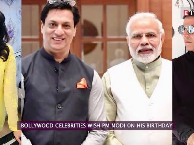 Bollywood celebrities wish Prime Minister Narendra Modi on his birthday