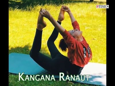 Bollywood celebs and their favourite yoga asanas