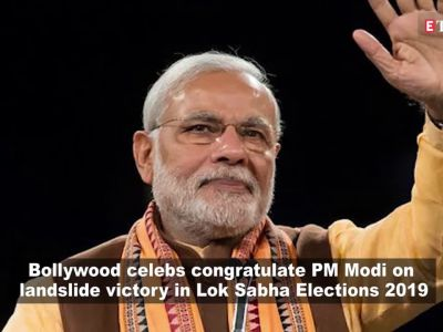 Bollywood celebs congratulate PM Modi on landslide victory; When Anupam Kher's mother predicted PM Modi's win, and more