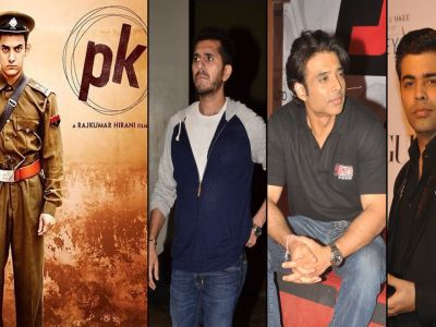Bollywood extends support to film 'PK'