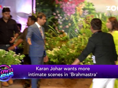 Brahmastra: Karan Johar wants more intimate scene between Ranbir-Alia