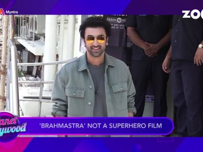'Brahmastra': Ranbir Kapoor calls the film 'romantic fairytale'