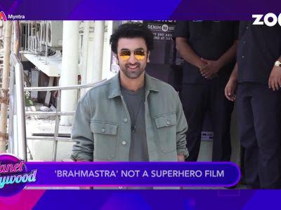 'Brahmastra': Ranbir Kapoor calls the film 'romantic fairytale'