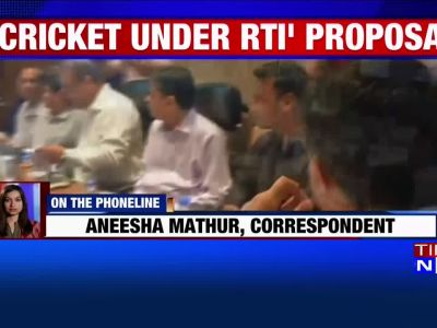 Bring BCCI under RTI Act: Law Commission to government