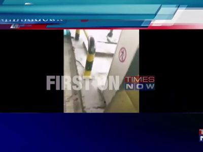 Caught on cam: Family members thrashed by toll both employees in Faridabad