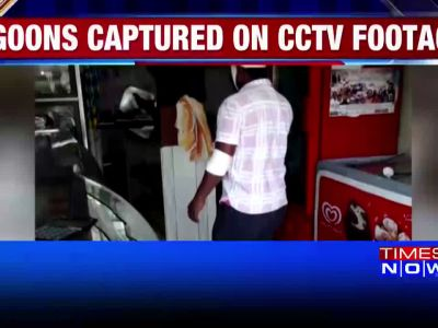 Caught on cam: Goons attack bakery in Bengaluru, assault staff
