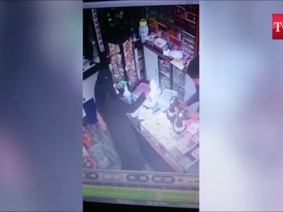Caught on camera: 26-year-old housewife lifts costly ornaments from shops, arrested