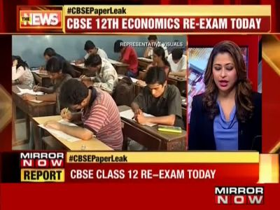 CBSE Class 12 Economics re-exam today