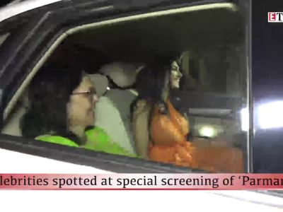 Celebrities spotted at special screening of 'Parmanu'