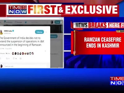 Centre announces end to Ramzan ceasefire in J&K