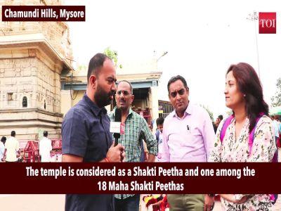 Chamundeshwari temple comes alive at Navratri