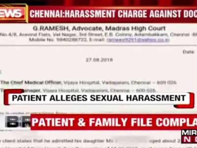 Chennai: Doctor allegedly molested patient during treatment