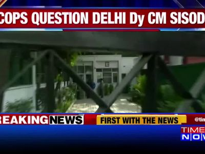 Chief secretary assault case: Delhi police question Manish Sisodia