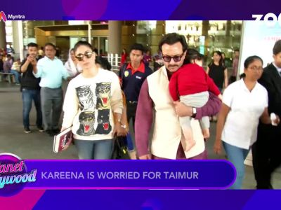 Constant limelight on Taimur Ali Khan gets mommy Kareena Kapoor worried