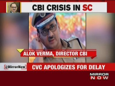 CVC submits probe report on Alok Verma in SC