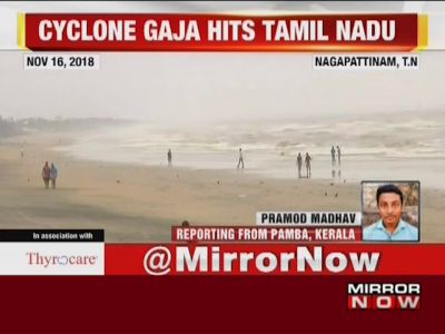 Cyclone Gaja: 28 people dead, 11 districts affected