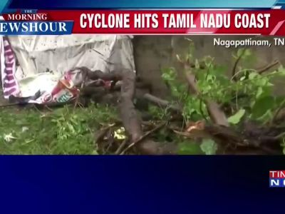 Cyclone Gaja: Heavy rains lash across Tamil Nadu, 75,000 people evacuated