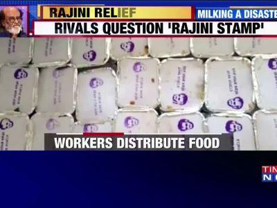 Cyclone Gaja: Rajinikanth faces backlash after food packets with 'Rajni' stamp distributed