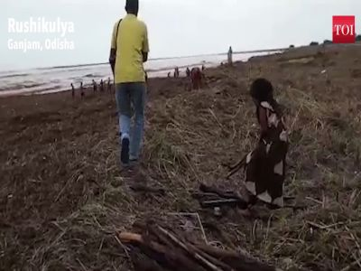 Cyclone Titli: Aftermath of storm results in accumulation of garbage at mouth of river Rushikulya