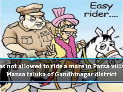 Darbars try to prevent Dalit groom from riding horse near Gandhinagar