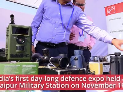 Day-long defence expo held at Jaipur Military Station on November 16
