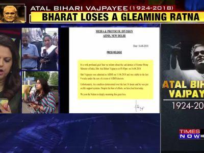Death of Atal Bihari Vajpayee end of an era: PM Narendra Modi