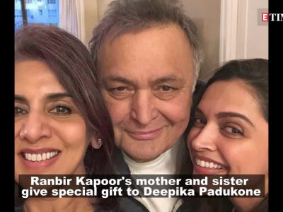 Deepika Padukone gets special gift from Ranbir Kapoor's mother Neetu Kapoor and sister Riddhima Kapoor Sahni