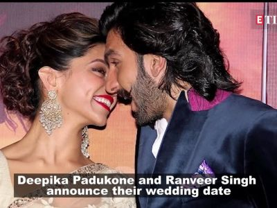 Deepika Padukone, Ranveer Singh announce their wedding date