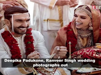 Deepika Padukone, Ranveer Singh wedding photographs out, fans go berserk