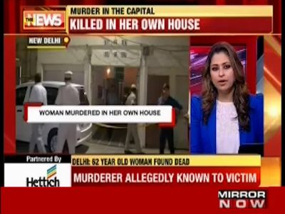 Delhi: 62-year-old woman murdered in her house