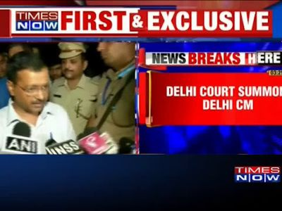 Delhi court summons CM Kejriwal in defamation case