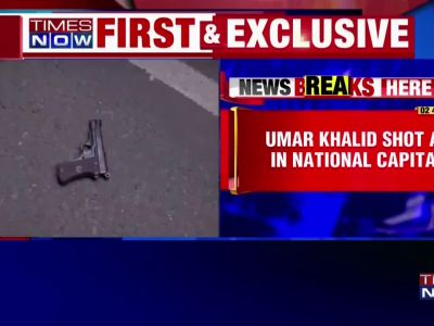 Delhi: Man attempts to open fire at Umar Khalid at an event