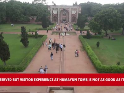 Delhi: Why visitor experience at Humayun Tomb is not as good as its upkeep