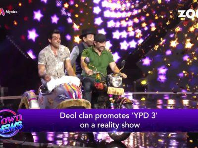 Deol family promotes 'Yamla Pagla Deewana 3' on reality show, Alia Bhatt walks on the ramp, and more