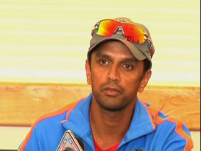 Description: Rahul Dravid to mentor India in England