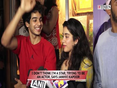 'Dhadak' actor Janhvi Kapoor says she's not aiming to be a star