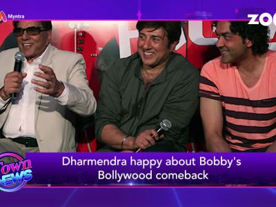 Dharmendra gets emotional as Salman Khan revives Bobby Deol's Bollywood career