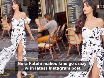 'Dilbar' girl Nora Fatehi's latest picture is making fans go crazy