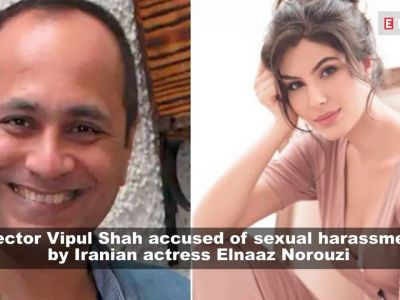 Director Vipul Shah accused of sexual harassment by Iranian model