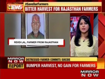 Distressed farmer commits suicide in Rajasthan