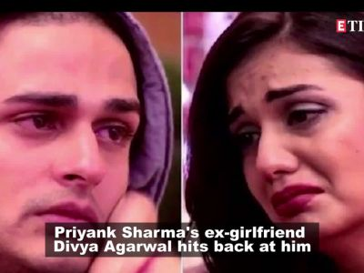 Divya Agarwal shares screenshots of chat with Benafsha Soonawalla against ex-boyfriend Priyank Sharma
