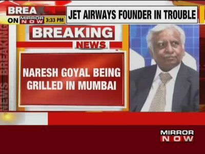 ED questions Jet Airways founder Naresh Goyal