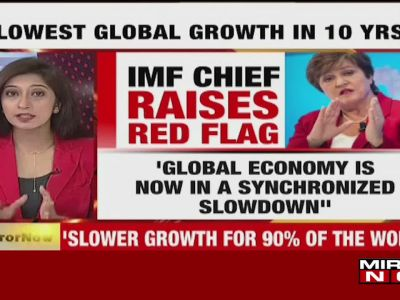 Effect of global slowdown is even more pronounced in India, says IMF chief  Kristalina Georgieva
