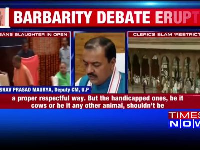 Eid ul Adha: UP govt bans slaughter in open, deputy CM defends decision