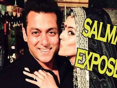 Exclusive!  Salman Khan's Valentine's Day with a secret lady