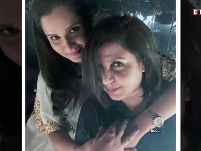 Farah Khan meets Sania Mirza's son, calls him gorgeous