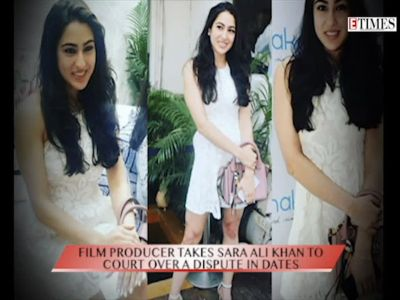 Film producer sues Saif Ali Khan's daughter Sara Ali Khan